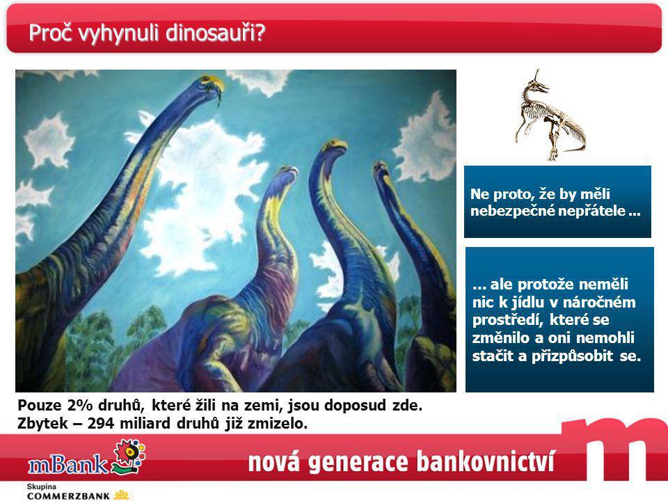 Proč vyhynuli dinosauři