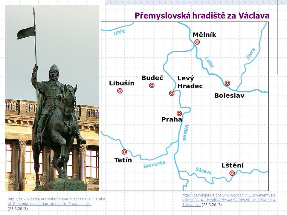 Přemyslovská hradiště za Václava