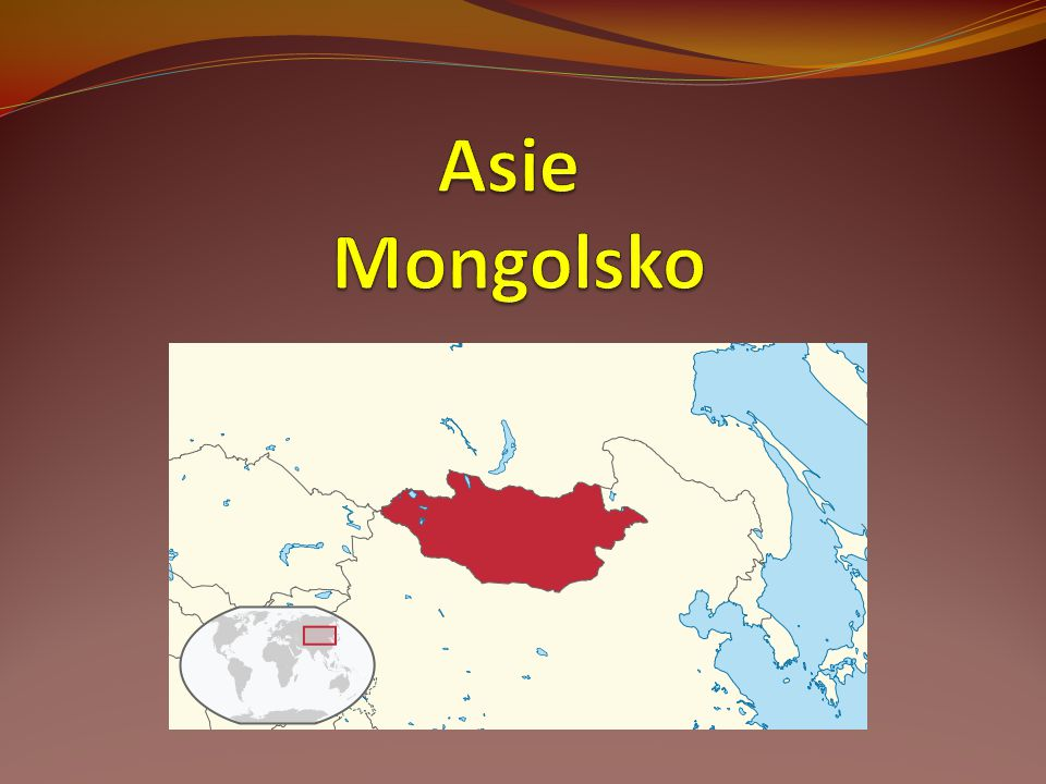 Asie Mongolsko