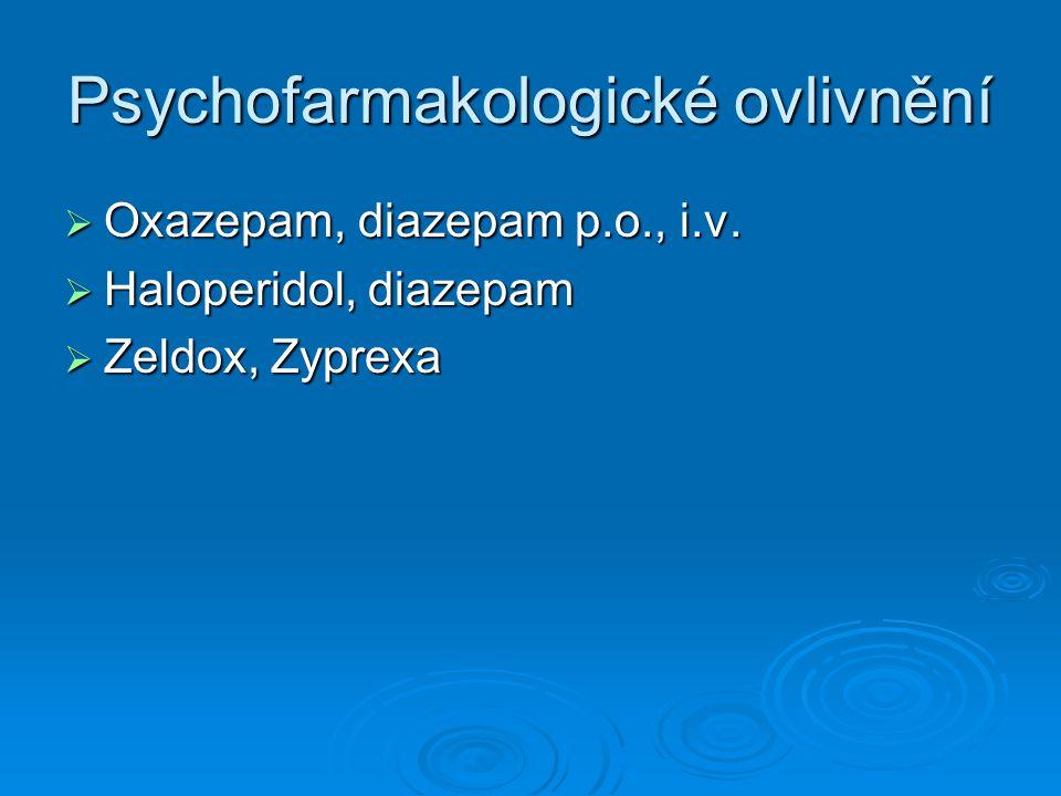 Psychofarmakologické ovlivnění
