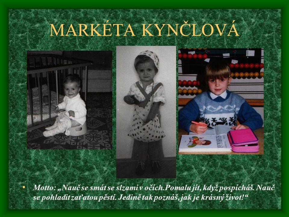 MARKÉTA KYNČLOVÁ