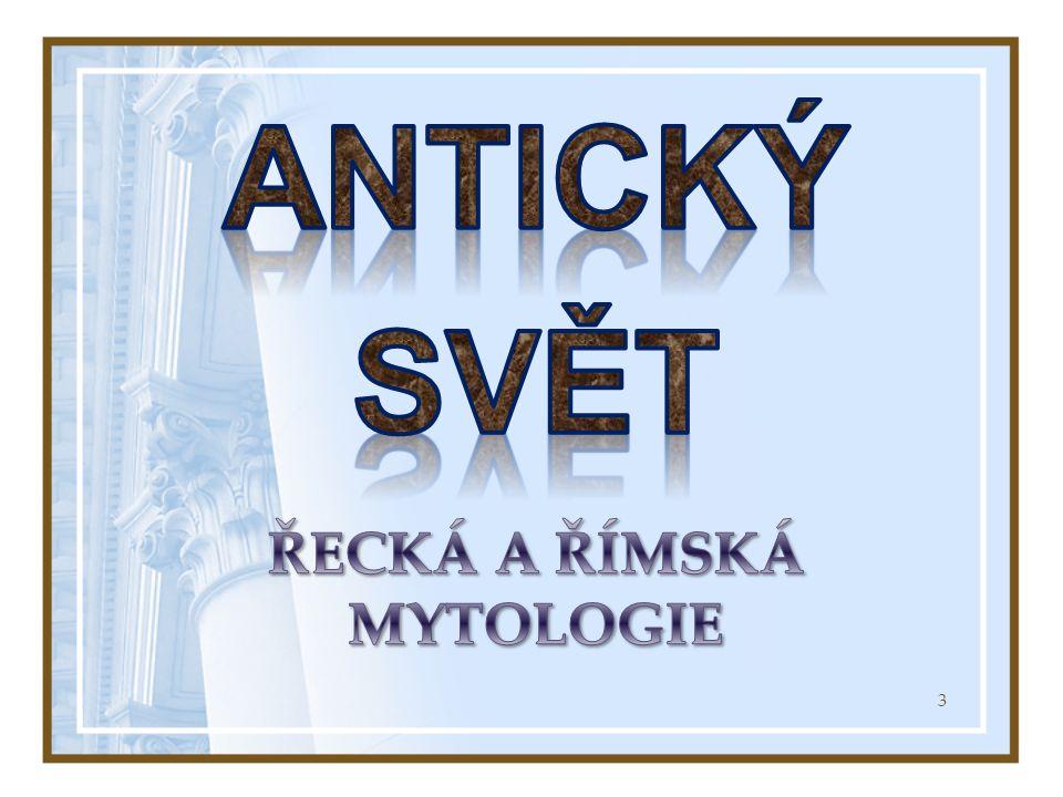 Řecká a římská mytologie