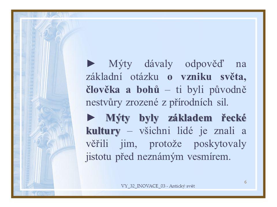 VY_32_INOVACE_03 - Antický svět