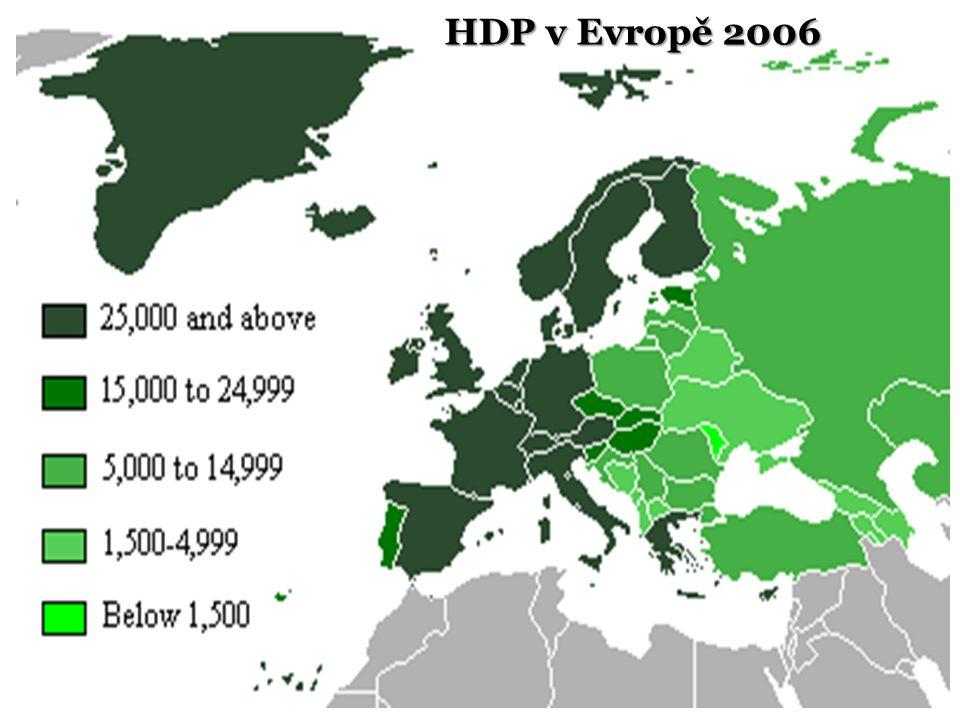 HDP v Evropě 2006