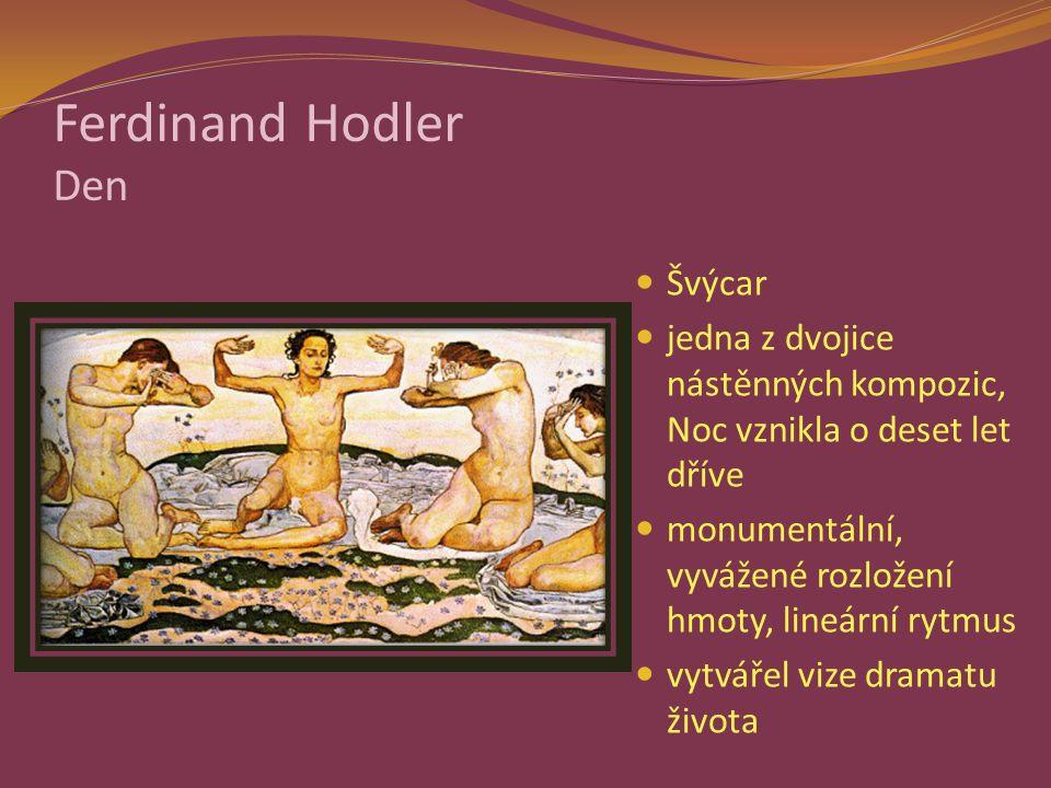 Ferdinand Hodler Den Švýcar