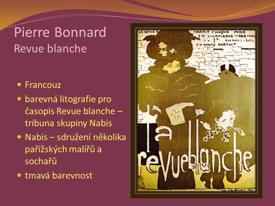 Pierre Bonnard Revue blanche