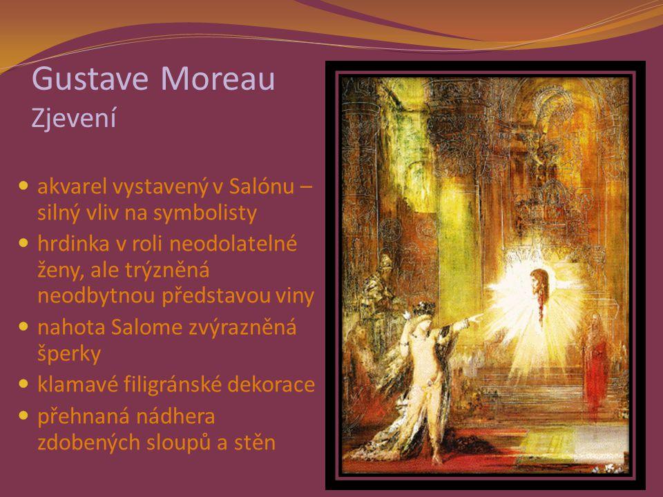 Gustave Moreau Zjevení