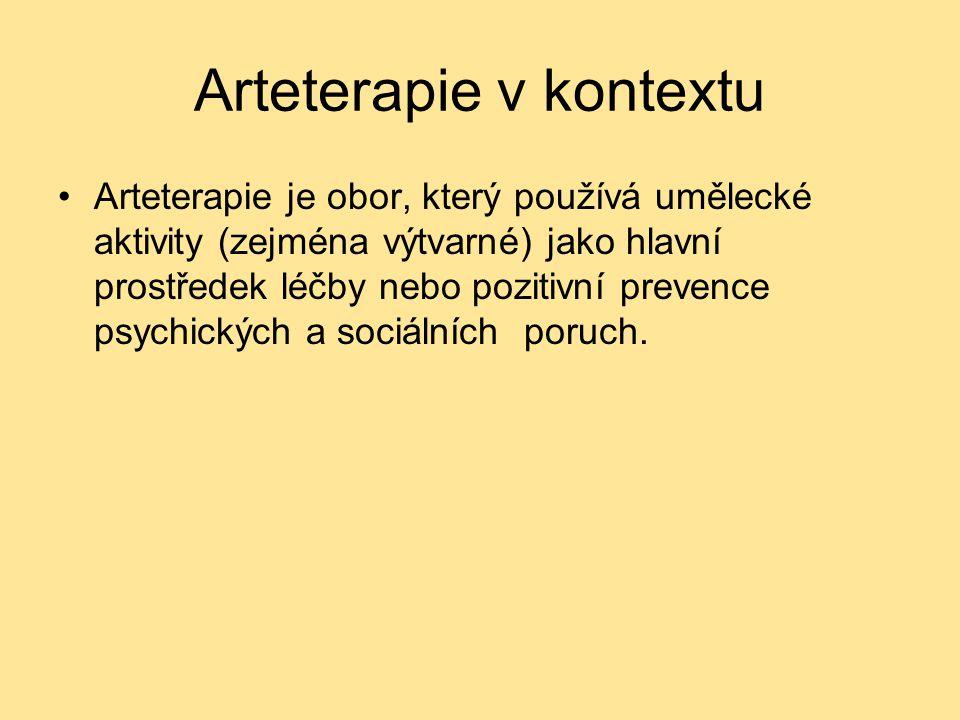Arteterapie v kontextu
