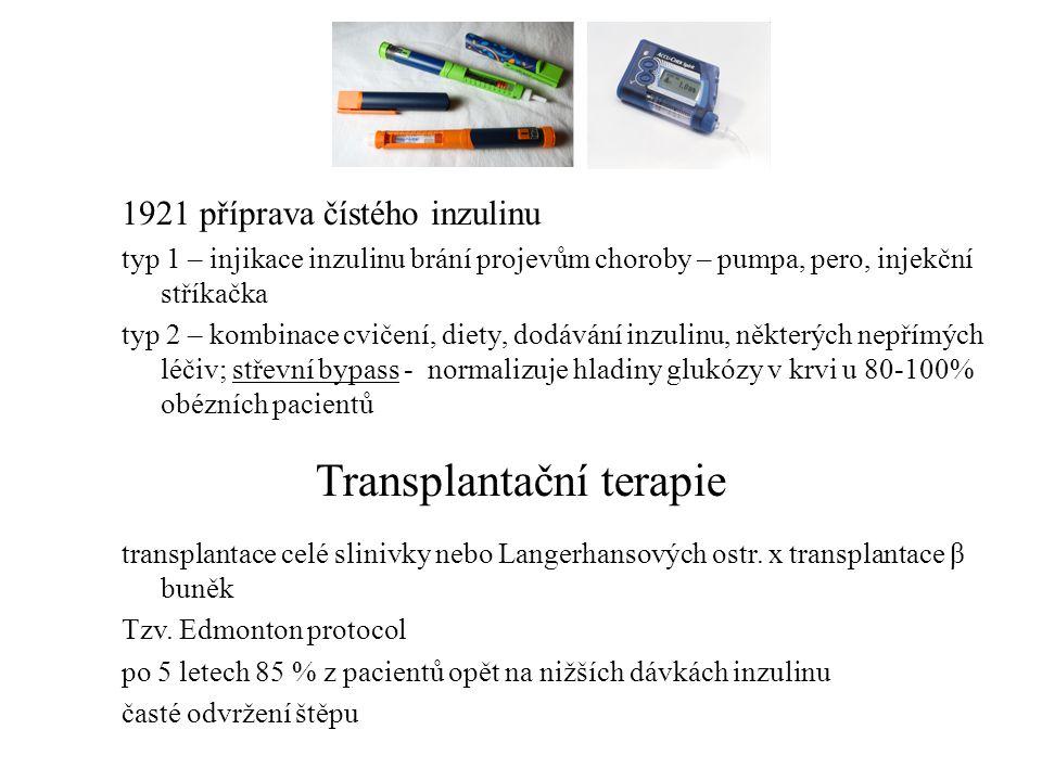 Transplantační terapie