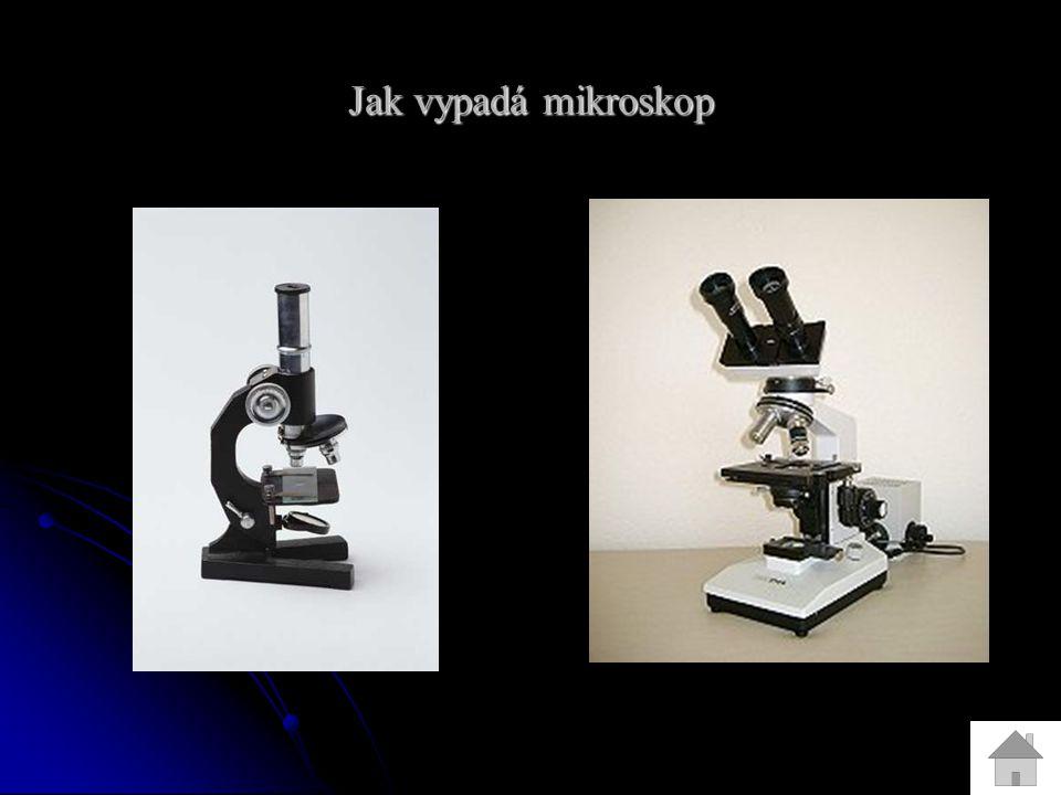 Jak vypadá mikroskop