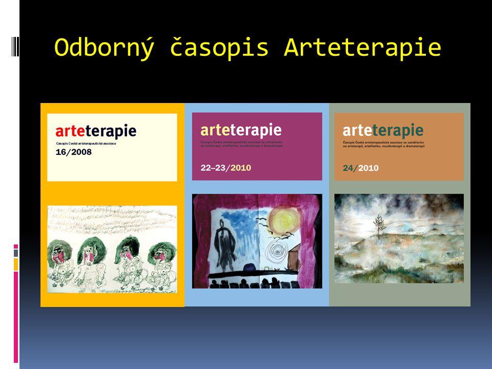 Odborný časopis Arteterapie