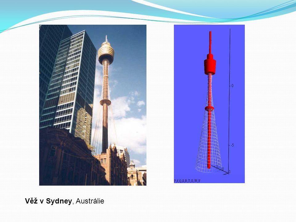Věž v Sydney, Austrálie