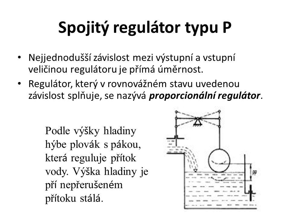 Spojitý regulátor typu P