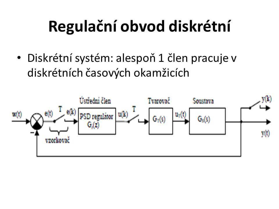 Regulační obvod diskrétní