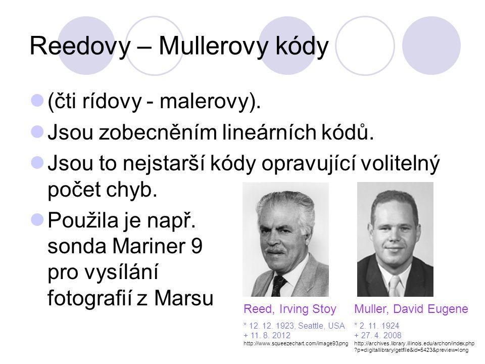 Reedovy – Mullerovy kódy