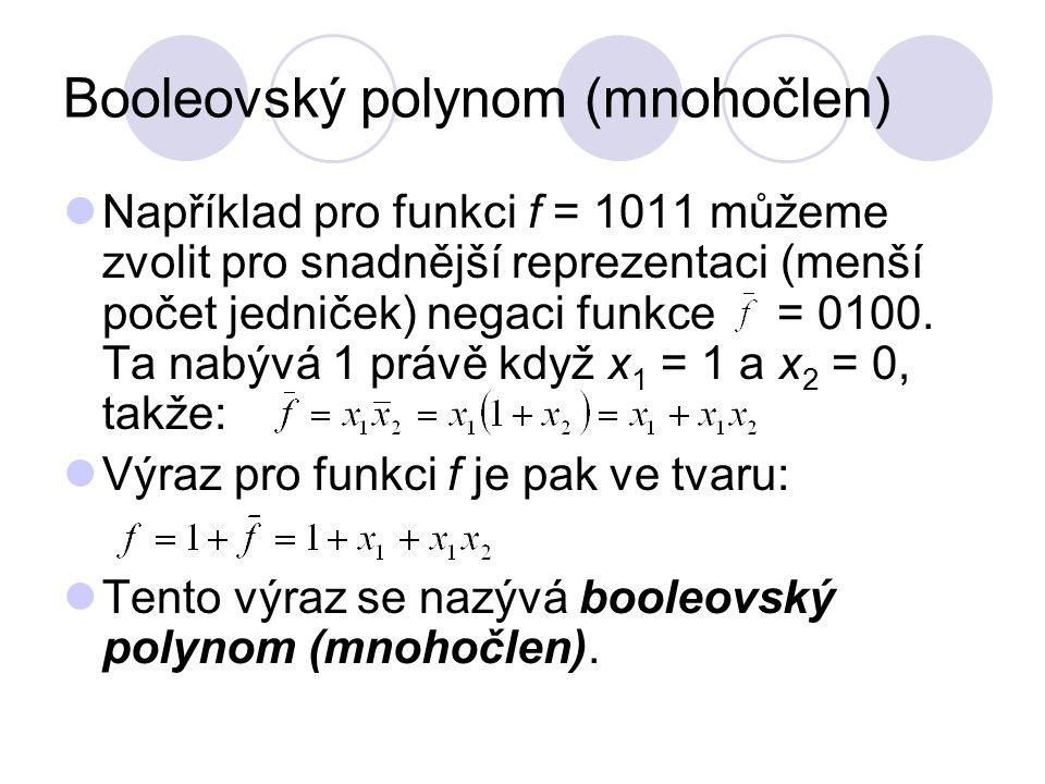 Booleovský polynom (mnohočlen)