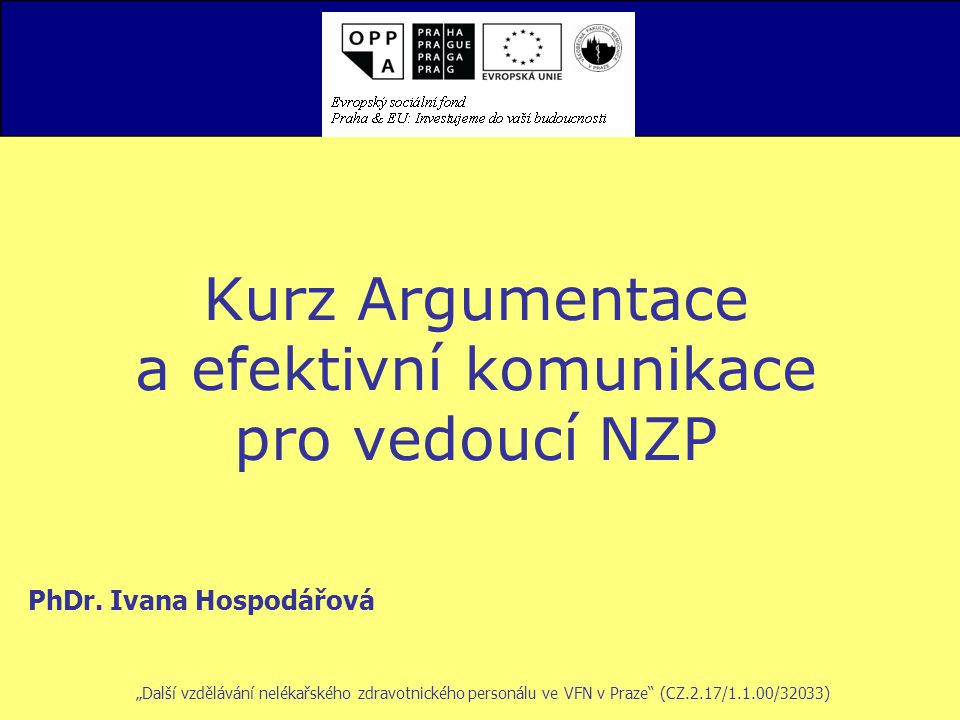 PhDr. Ivana Hospodářová