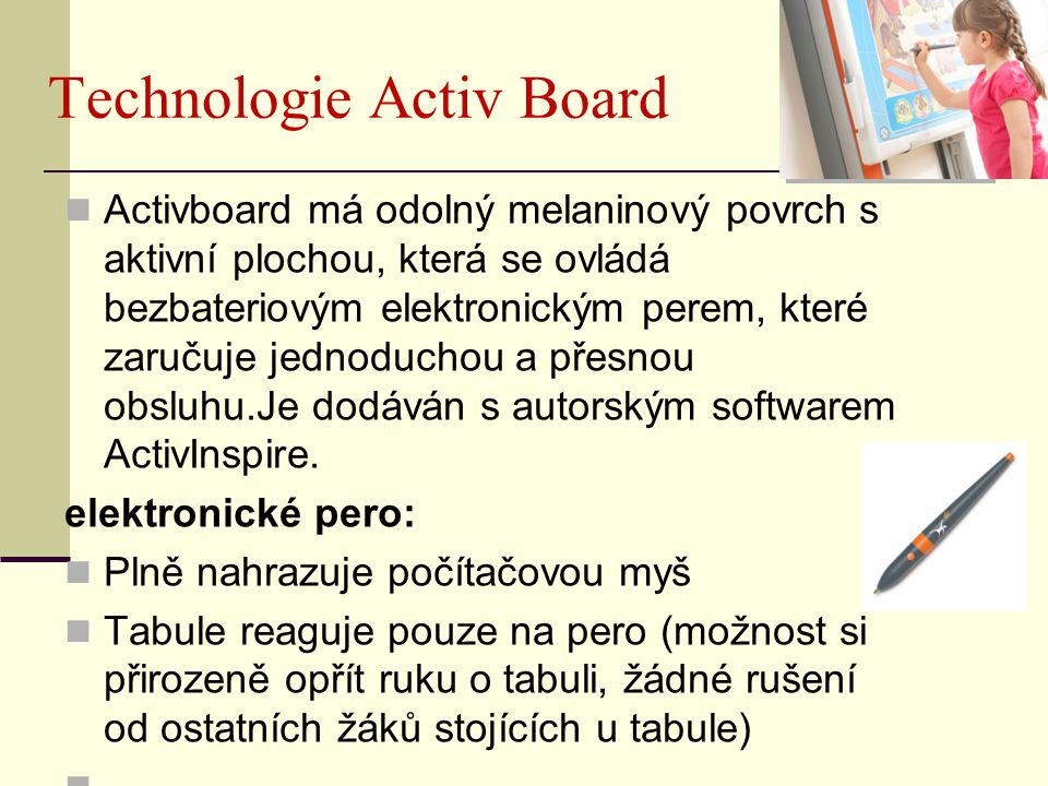 Technologie Activ Board