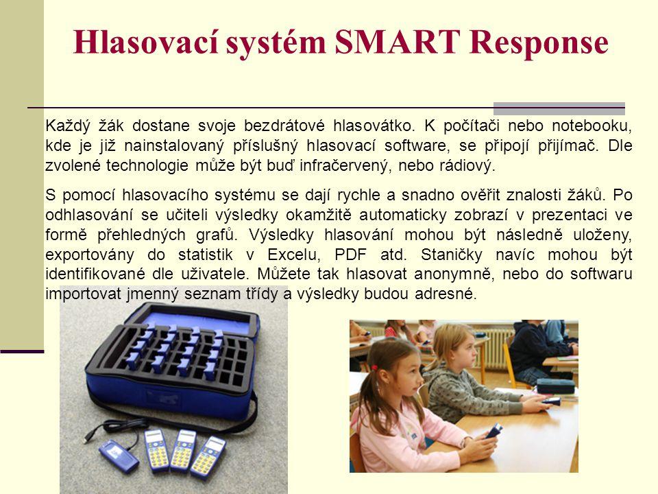 Hlasovací systém SMART Response
