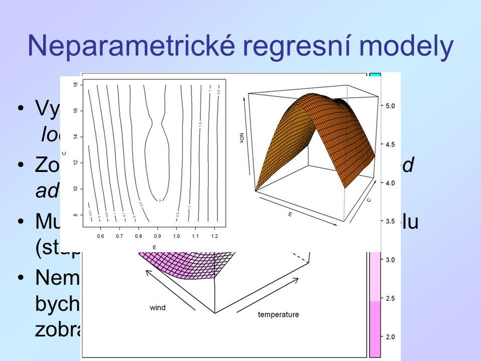 Neparametrické regresní modely