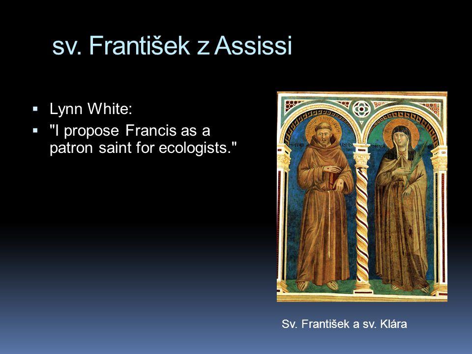 sv. František z Assissi Lynn White: