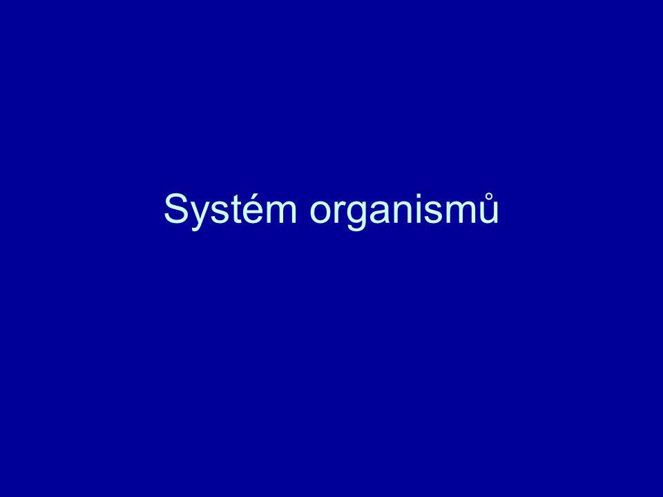 Systém organismů