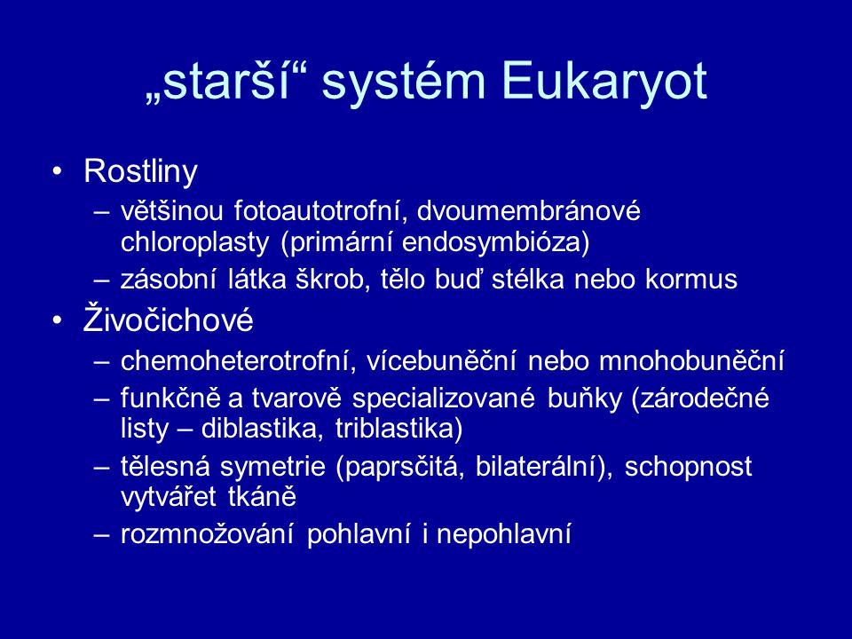 """""""starší systém Eukaryot"""