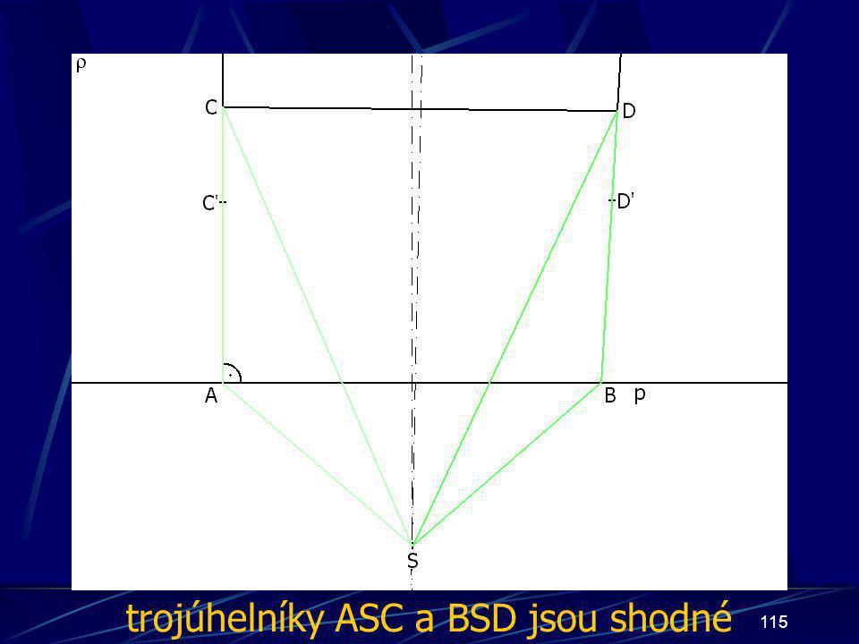 trojúhelníky ASC a BSD jsou shodné