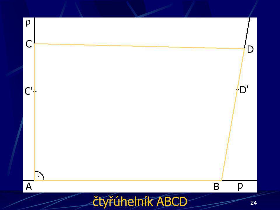 čtyřúhelník ABCD
