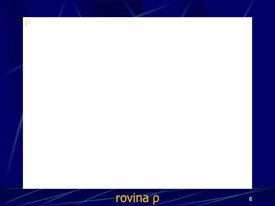 rovina ρ
