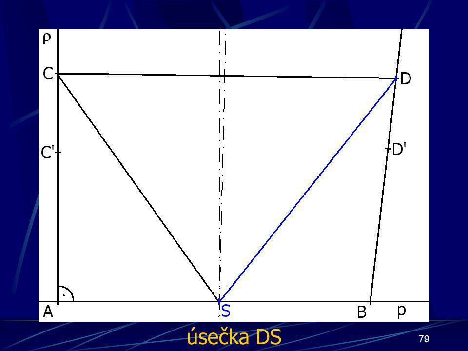 úsečka DS