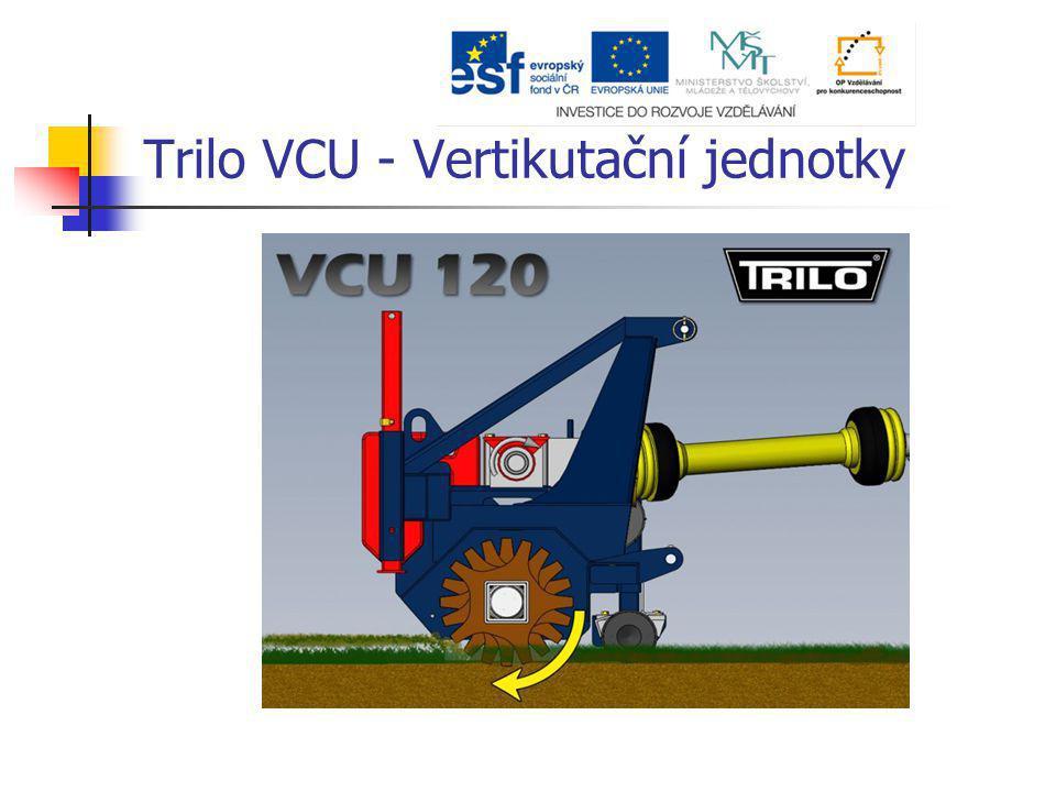 Trilo VCU - Vertikutační jednotky
