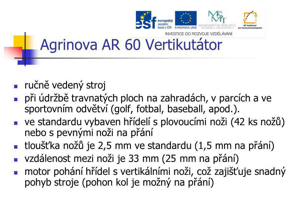 Agrinova AR 60 Vertikutátor