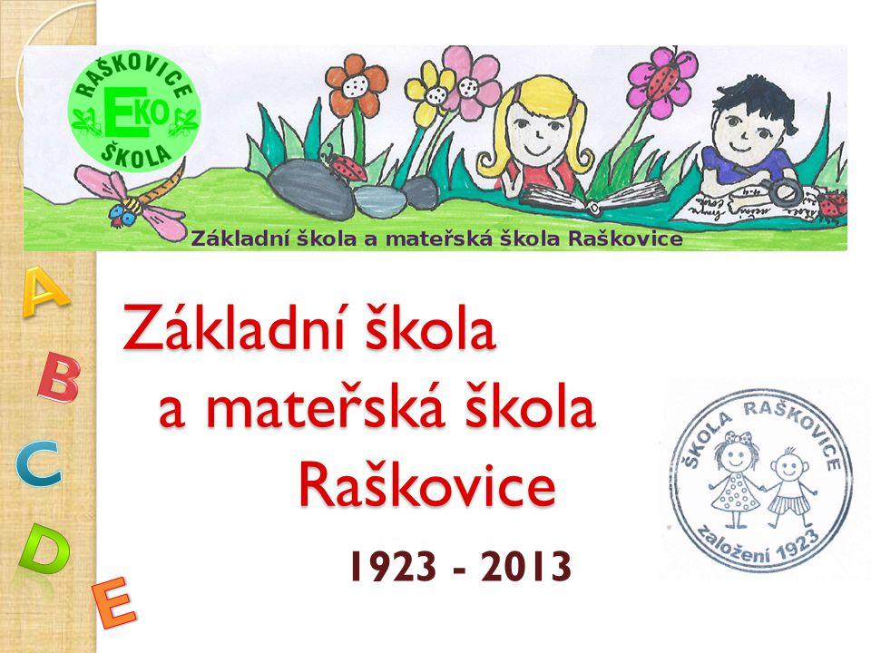 Základní škola a mateřská škola Raškovice