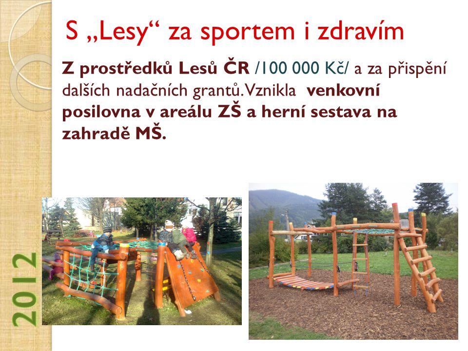 """S """"Lesy za sportem i zdravím"""