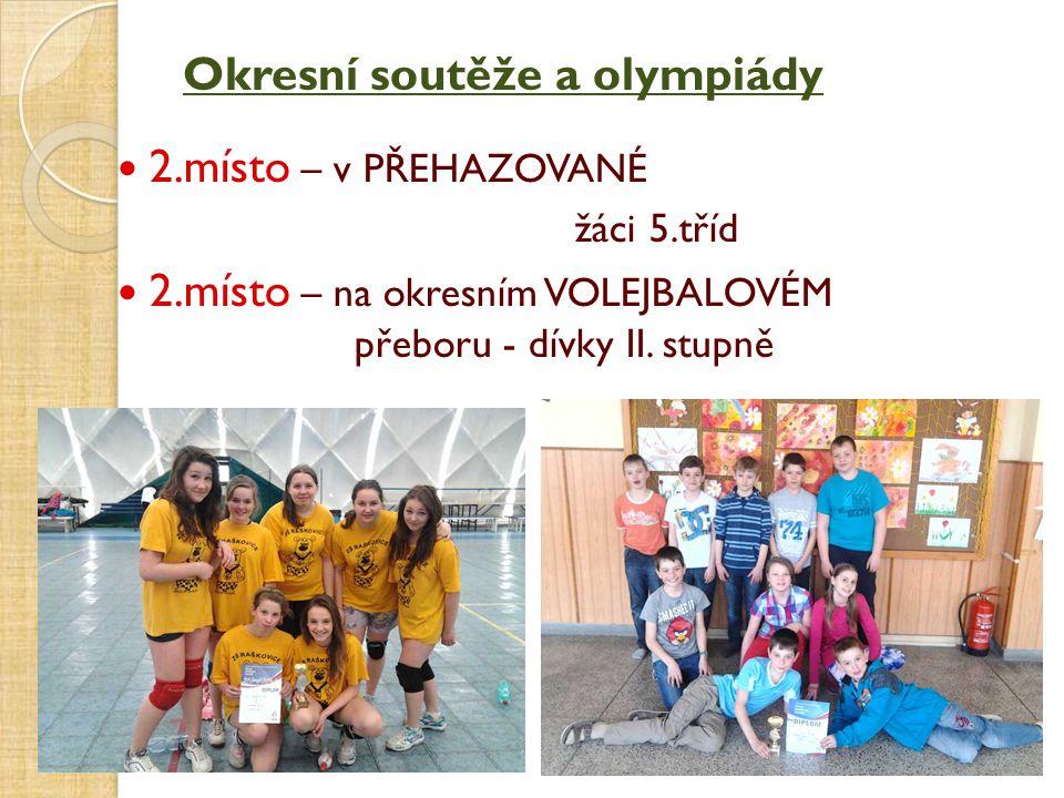 Okresní soutěže a olympiády