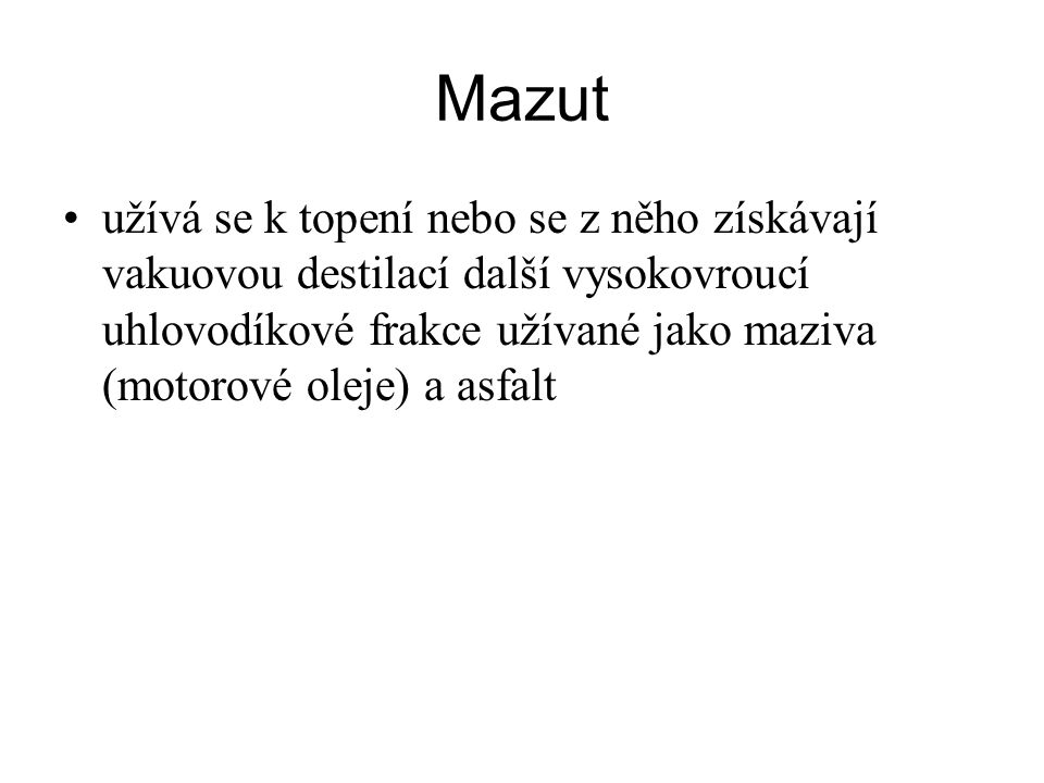 Mazut