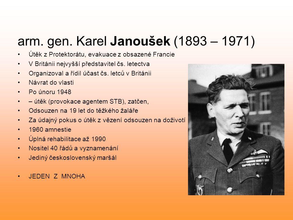 arm. gen. Karel Janoušek (1893 – 1971)