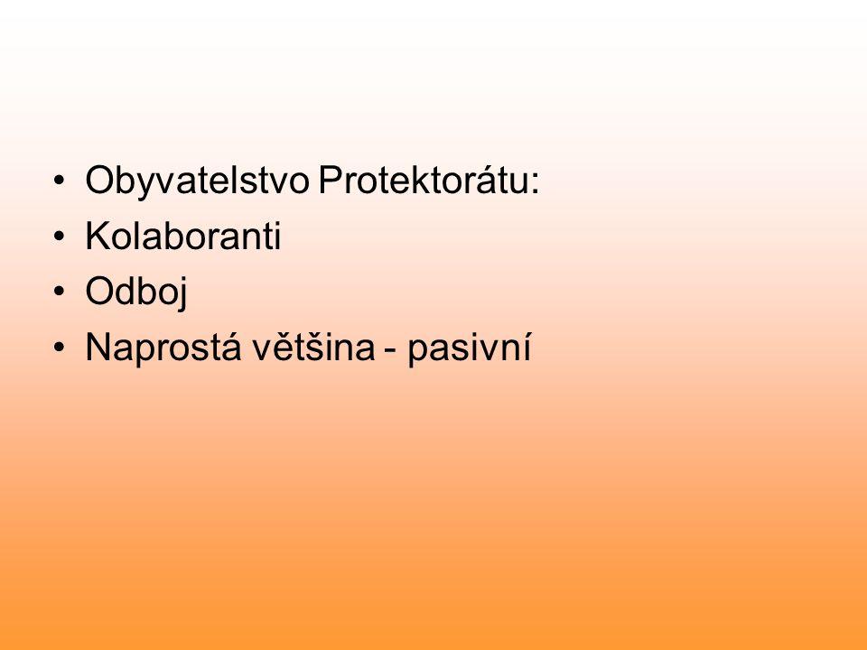 Obyvatelstvo Protektorátu: