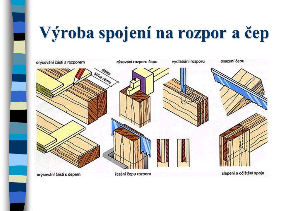 Výroba spojení na rozpor a čep
