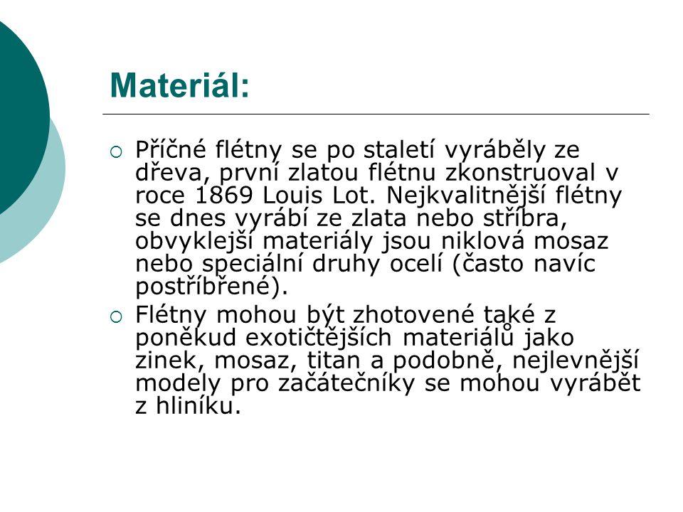 Materiál: