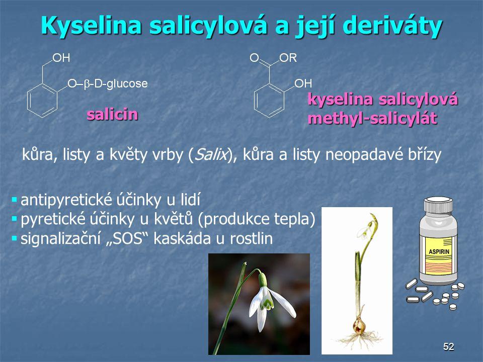 Kyselina salicylová a její deriváty