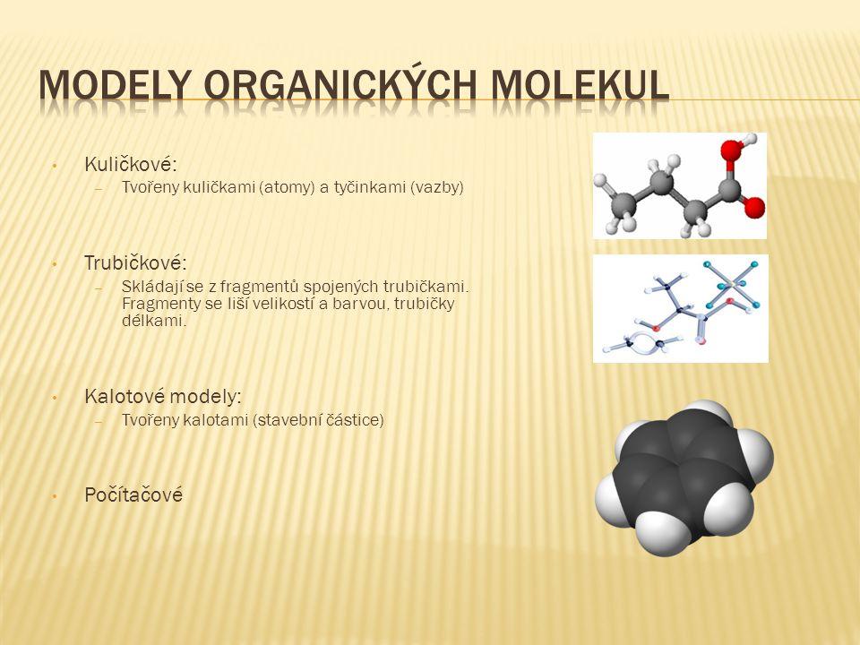 Modely organických molekul