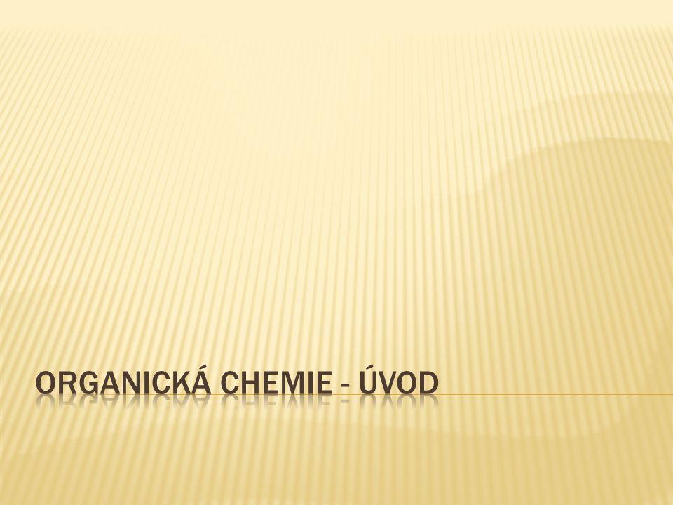 Organická chemie - úvod