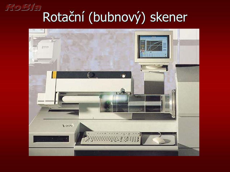 Rotační (bubnový) skener