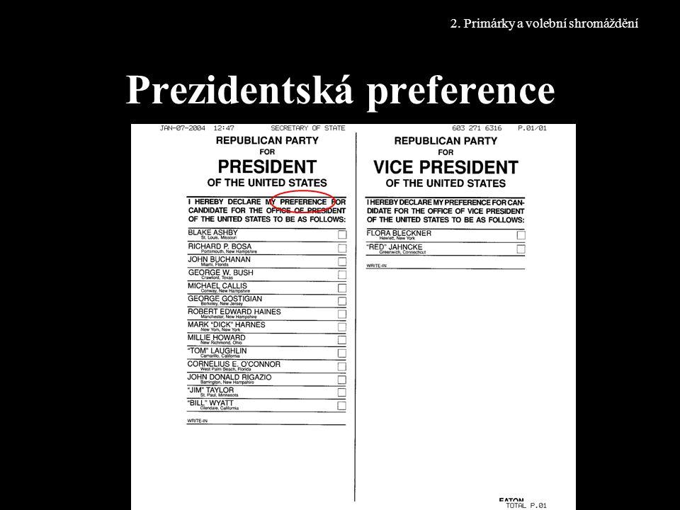 Prezidentská preference