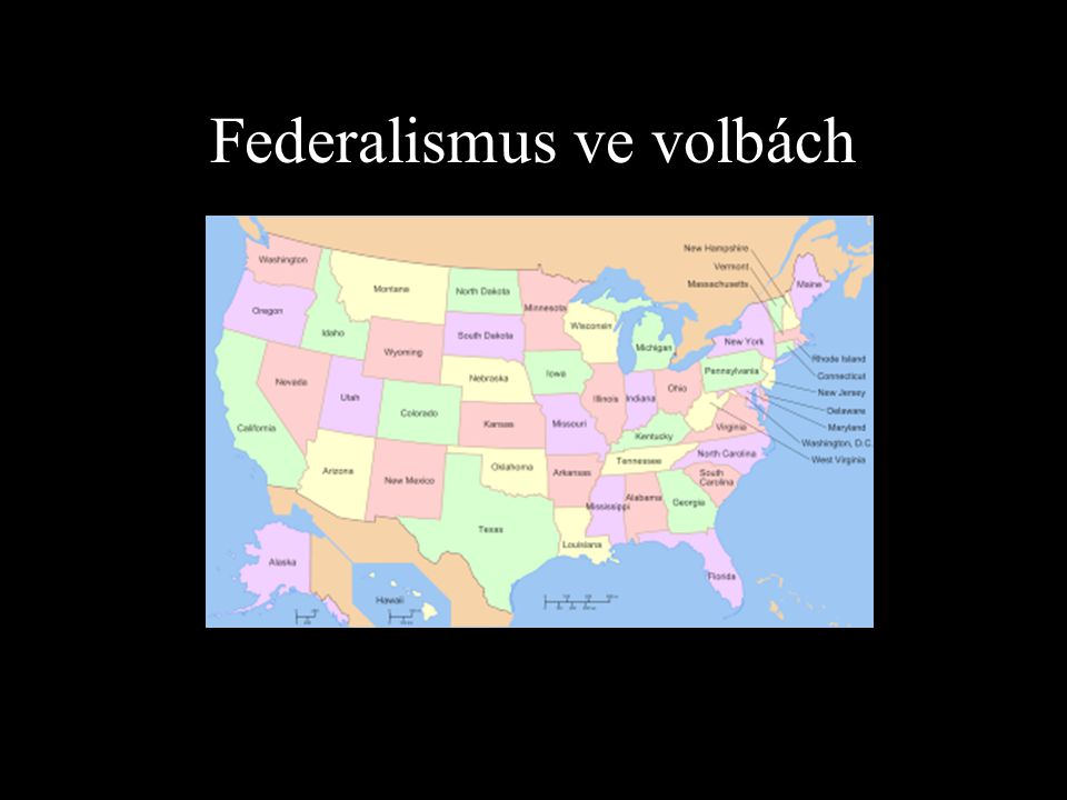 Federalismus ve volbách