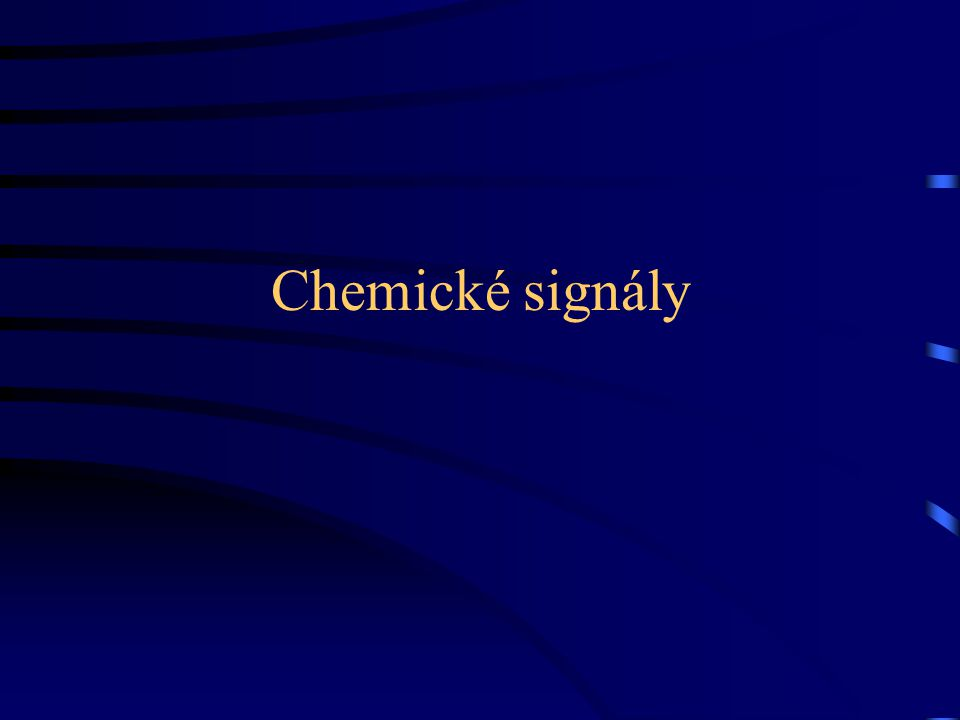 Chemické signály