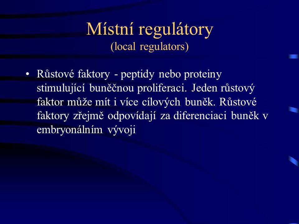 Místní regulátory (local regulators)