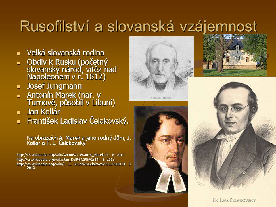 Rusofilství a slovanská vzájemnost